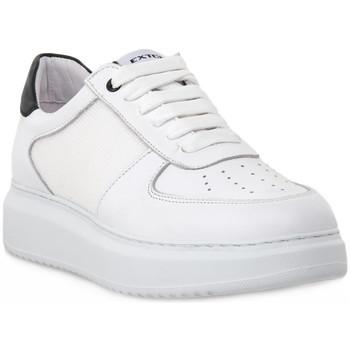 Sapatos Homem Sapatilhas Exton BIANCO NAPPA Bianco