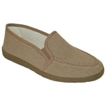 Sapatos Homem Chinelos Cbp - Conbuenpie Sandalia de piel de mujer by TROPPA (R.ST) Beige