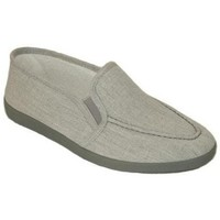 Sapatos Homem Chinelos Cbp - Conbuenpie Sandalia de piel de mujer by TROPPA (R.ST) Gris