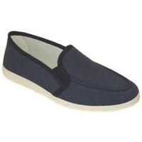 Sapatos Homem Chinelos Cbp - Conbuenpie Sandalia de piel de mujer by TROPPA (R.ST) Bleu