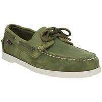 Sapatos Homem Sapato de vela Sebago 137022 Verde