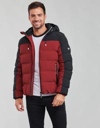 Textil Homem Quispos Emporio Armani EA7 TRAINING CASUAL SPORTY Preto / Vermelho