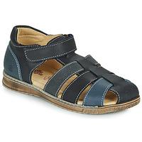 Sapatos Rapaz Sandálias Citrouille et Compagnie FRINOUI Marinho / Cinza