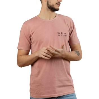 Textil Homem T-Shirt mangas curtas Klout  Rosa