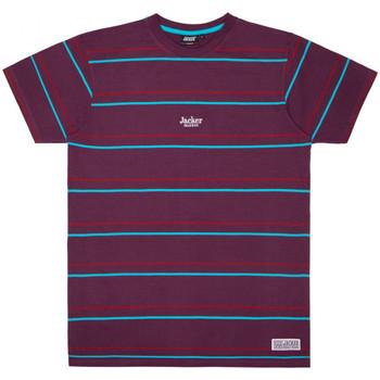 Textil Homem T-Shirt mangas curtas Jacker Rtk stripes Violeta