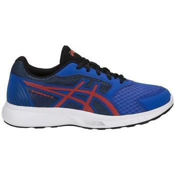 Sapatos Criança Fitness / Training  Asics Stormer GS Vermelho, Azul