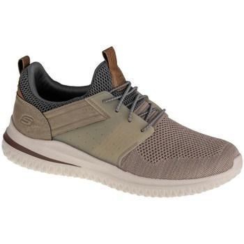 Sapatos Homem Sapatilhas Skechers Delson 30 Cicada Cor bege