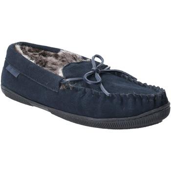 Sapatos Homem Chinelos Hush puppies  Marinha