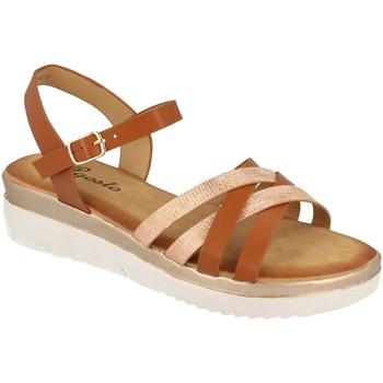 Sapatos Mulher Sandálias Tephani TF2202 Camel