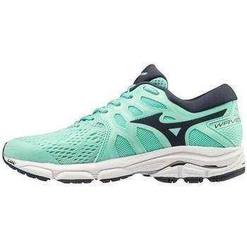 Sapatos Mulher Fitness / Training  Mizuno Wave Equate 4 Preto, Verde