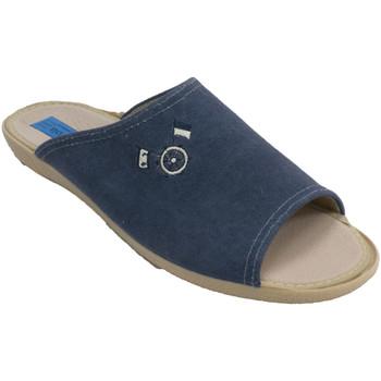 Sapatos Homem Chinelos Made In Spain 1940 Chinelos masculinos Alberola em Azul-mar azul