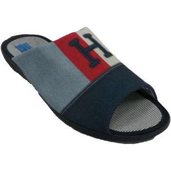 Sapatos Homem Chinelos Made In Spain 1940 Homem de verão de chinelos para ficar em azul
