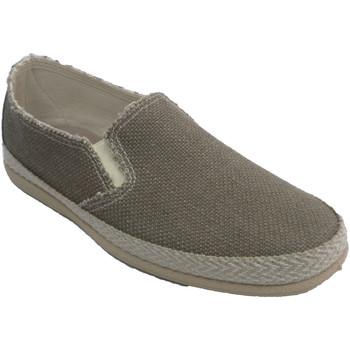 Sapatos Homem Alpargatas Made In Spain 1940 Tênis de lona masculino simulando corte beige
