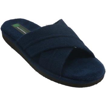 Sapatos Homem Chinelos Miszapatillas Tiras cruzadas de Chanclashombre Miszapa azul