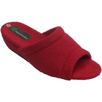 Sapatos Mulher Chinelos Miszapatillas Chinelos de toalha de mulher Miszapatill rojo