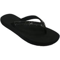 Sapatos Mulher Chinelos Gioseppo-N Tira brilhante de mulher de piscina de p negro