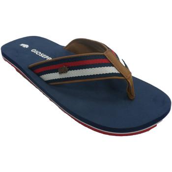 Sapatos Homem Chinelos Gioseppo-N Flip-flops man pool praia tira de tecido azul
