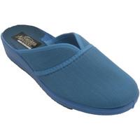 Sapatos Mulher Chinelos Nevada Tênis feminino fechado pela ponta do pé azul