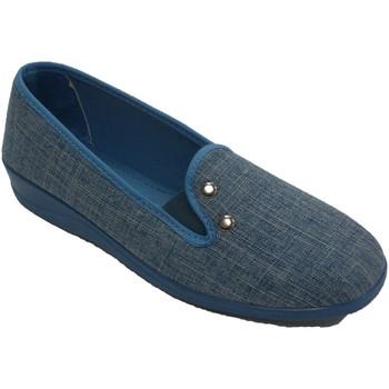 Sapatos Mulher Chinelos Nevada Tênis feminino com dois rebites  e azul