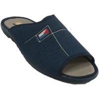 Sapatos Homem Chinelos Aguas Nuevas Chinelos de salto homem  em azul