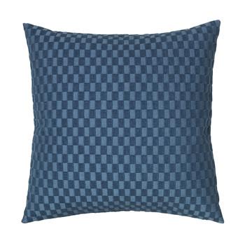 Casa Capas de Almofada Broste Copenhagen LINO Azul