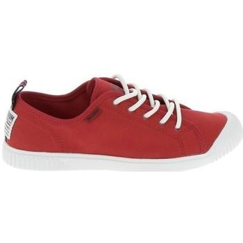 Sapatos Mulher Sapatilhas Palladium Easy Lace Rouge Vermelho