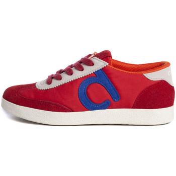 Sapatos Mulher Sapatilhas Duuo Nice 037 Vermelho