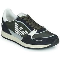 Sapatos Homem Sapatilhas Emporio Armani ANIMA Preto