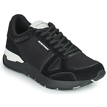 Sapatos Homem Sapatilhas Emporio Armani BALISTA Preto