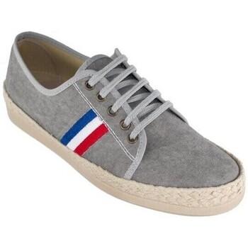 Sapatos Homem Alpargatas Cbp - Conbuenpie Sandalia de piel de mujer by TROPPA (R.ST) Gris