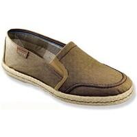 Sapatos Homem Alpargatas Cbp - Conbuenpie Sandalia de piel de mujer by TROPPA (R.ST) Vert
