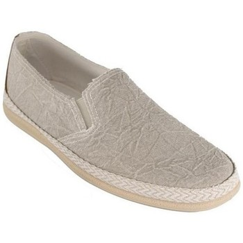 Sapatos Homem Alpargatas Cbp - Conbuenpie Sandalia de piel de mujer by TROPPA (R.ST) Beige