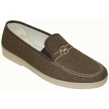 Sapatos Homem Mocassins Cbp - Conbuenpie Sandalia de piel de mujer by TROPPA (R.ST) Marron