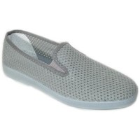 Sapatos Homem Slip on Cbp - Conbuenpie Sandalia de piel de mujer by TROPPA (R.ST) Gris