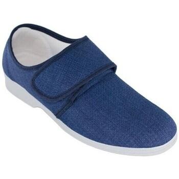 Sapatos Homem Sapatilhas Cbp - Conbuenpie Sandalia de piel de mujer by TROPPA (R.ST) Bleu