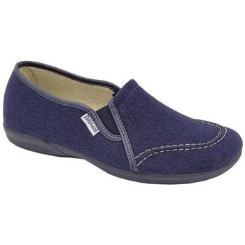 Sapatos Homem Slip on Cbp - Conbuenpie Sandalia de piel de mujer by TROPPA (R.ST) Bleu