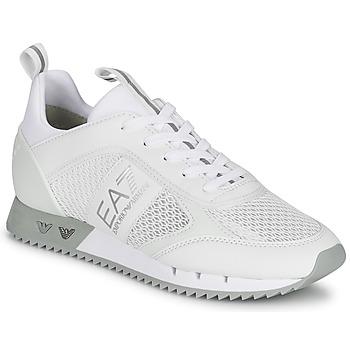 Sapatos Sapatilhas Emporio Armani EA7 BLACK&WHITE LACES Branco