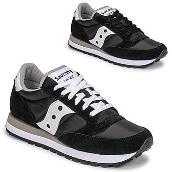 Sapatos Sapatilhas Saucony JAZZ ORIGINAL Preto / Branco