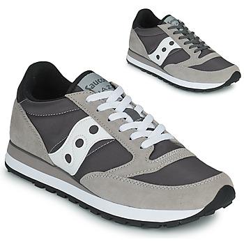 Sapatos Sapatilhas Saucony JAZZ ORIGINAL Cinza / Branco
