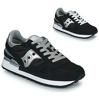 Sapatos Mulher Sapatilhas Saucony SHADOW ORIGINAL Preto / Prata