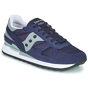 Sapatos Homem Sapatilhas Saucony SHADOW ORIGINAL Marinho / Cinza