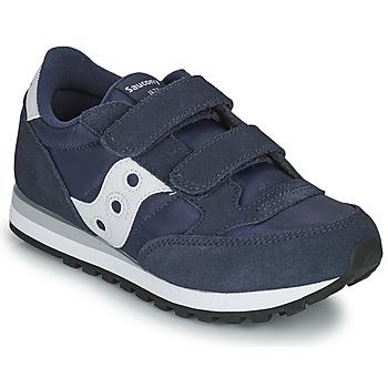 Sapatos Rapaz Sapatilhas Saucony JAZZ DOUBLE HL Marinho / Branco