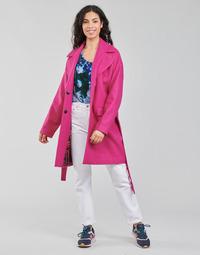 Textil Mulher Casacos Desigual RUBI Rosa
