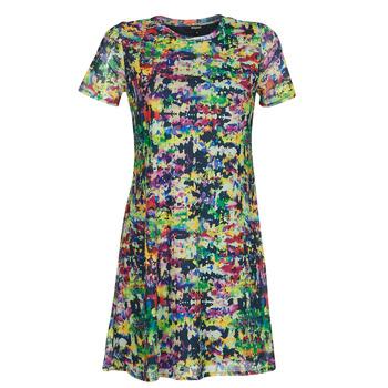 Textil Mulher Vestidos curtos Desigual ANN Multicolor
