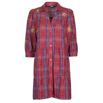 Textil Mulher Vestidos curtos Desigual DORA MAAR Multicolor