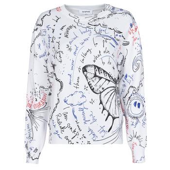 Textil Mulher camisolas Desigual BOSTON Branco