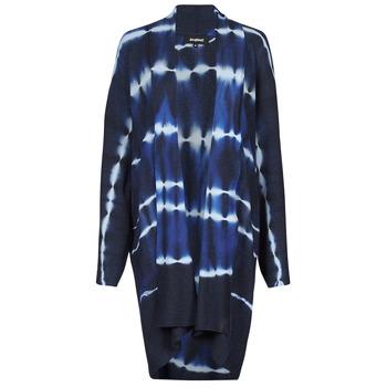Textil Mulher Casacos de malha Desigual BRUMA Azul