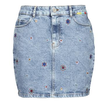 Textil Mulher Saias Desigual LESLIE Azul