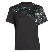 Textil Mulher T-Shirt mangas curtas Desigual GRACE HOPPER Preto