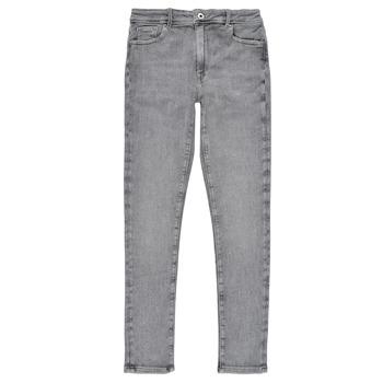 Textil Rapariga Gangas Skinny Pepe jeans PIXLETTE HIGH Cinza